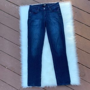 PAIGE | Skyline Skinny Dark Wash Jeans